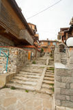 Stairs to the sea in Sozopol Stock Photo