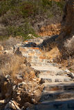 Stairs to the sea Royalty Free Stock Photo