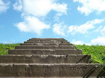 Stairs to sky Stock Photography