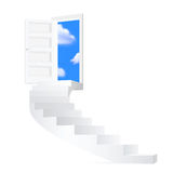 Stairs to sky. Royalty Free Stock Photography