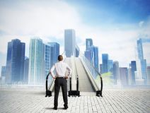 Free Stairs To Success Stock Photo - 35973330