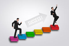 Free Stairs To Success Royalty Free Stock Photos - 69310118