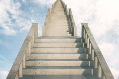 Stairs to success Royalty Free Stock Photo