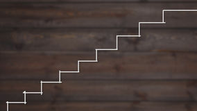 Stairs to success. successful businessman ladder Stock Photos