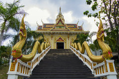 Stairs to the Temple. Royalty Free Stock Images
