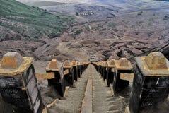 250 stairs to top Bromo stock image