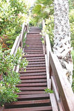 Stairs to the top Royalty Free Stock Images