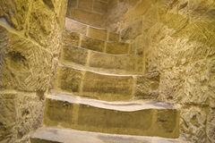 Stairs to the tower. Stairs to the Maiden Tower Royalty Free Stock Images