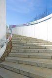 Stairs to underground passage. Photographed stairs to underground passage in Belgrade Stock Photos