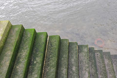 Stairs to Water Royalty Free Stock Photography