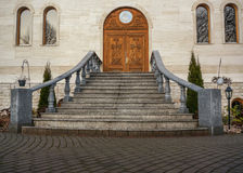 Stairs tu church Stock Photography
