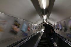 Tube london. Stairs of underground Stock Photography