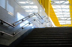Stairs underpasses in the sunlight Stock Image