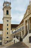 Stairs of University of Coimbra, Portugal Stock Images