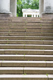 The stairs up. Stock Photo