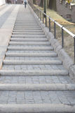 Stairs up to Wawel Hill; Krakow Stock Photo