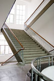 Stairs upwards. Stairs in a building upwards Royalty Free Stock Images