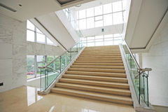 Stairs upwards. Stairs in a hotel upwards Royalty Free Stock Images