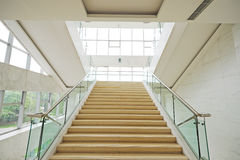 Stairs upwards. Stairs in a hotel upwards Stock Photos