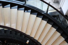 Stairs upwards. Stairs in a hotel upwards Royalty Free Stock Photography