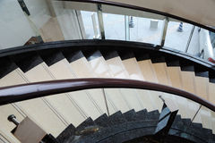 Stairs upwards. Stairs in a hotel upwards Stock Photography