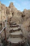 Stairs in Valle De La Luna, La Paz, Bolivia Royalty Free Stock Image