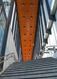 Stairs at Vathorst station. Amersfoort, the Netherlands Royalty Free Stock Image