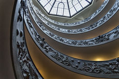 Stairs at the Vatican M Royalty Free Stock Photo