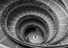 Stairs Vatican Museum. The stairs of the Vatican Museum Stock Photos