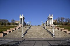 Stairs in Volgograd Royalty Free Stock Photos
