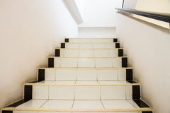 Stairs. Walk up the stairs to the 2nd floor royalty free stock image