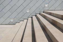 Stairs and wall Royalty Free Stock Image