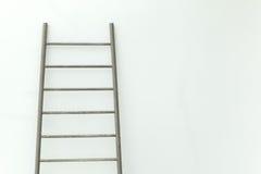 Stairs and White Wall. Stairs and White Wall background Stock Image