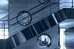 Stairs and windows,Domodedovo Stock Photos