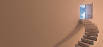 Stairway к небу Стоковые Изображения