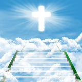 Stairway к раю Стоковые Изображения