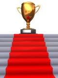 stairway к трофею Стоковое Изображение