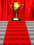 stairway к трофею Стоковая Фотография