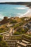 stairway океана к Стоковое Изображение RF