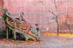 stairway осени старый Стоковое Фото