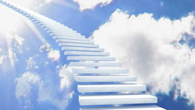 stairway рая к иллюстрация вектора