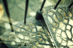 stairway случая старый спиральн очень Стоковая Фотография RF