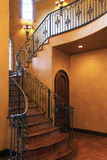 stairway хором входа передний домашний нутряной Стоковое фото RF