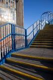stairway шагает пакгауз Стоковые Фотографии RF