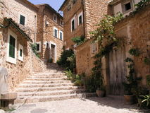 Stairway. A lovely image of a little place in Mallorca Stock Images