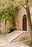 Stairway. Old stairway in erice in sicily Royalty Free Stock Images