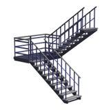 stairway Fotografia Stock