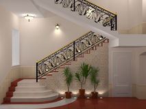 Stairway. Royalty Free Stock Photography