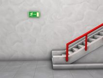 Stairway Royalty Free Stock Images