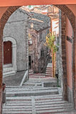 Stairway in alley Royalty Free Stock Photo